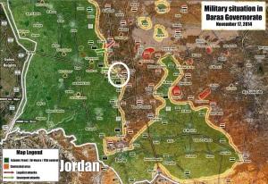 Daraa map